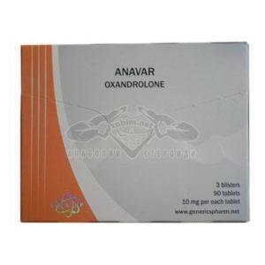 Anavar Euro Generics Pharm цени и доставка