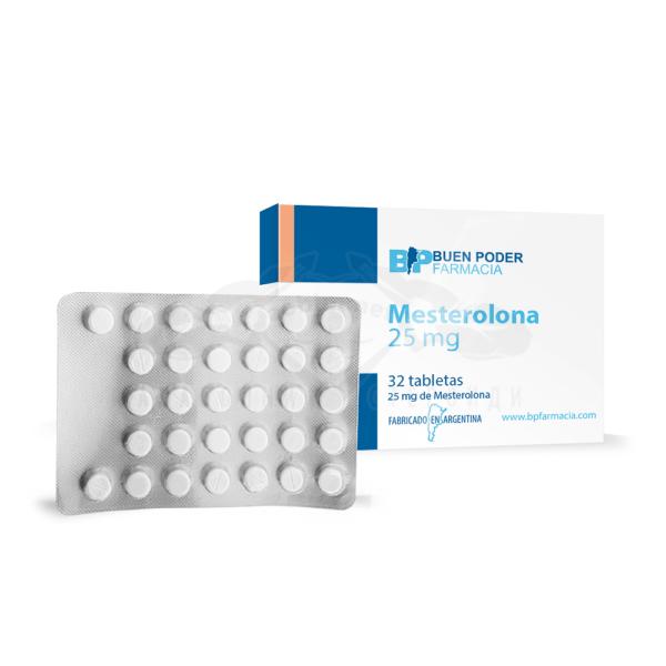Mesterolona (Proviron) - 32 табл. х 25 мг.