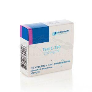 Test C-250 - 10 амп. х 250 мг.