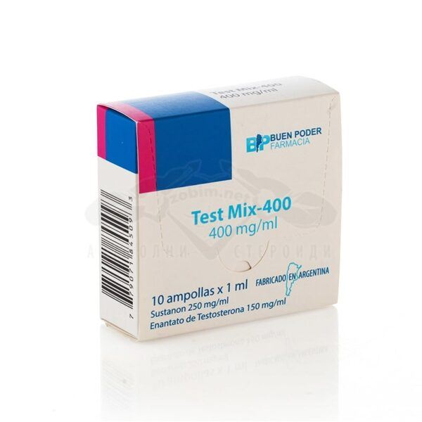 Test Mix-400 - 10 амп. х 400 мг.
