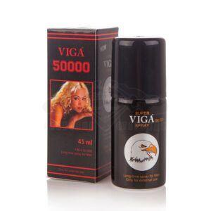 Спрей за задържане Super Viga 50 000 - BLACK LABEL - 45 мл.