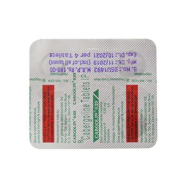 Достинекс - Cabgolin (Cabergoline)