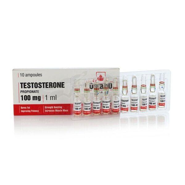 Testosterone Propionate - 10 амп. х 100 мг.
